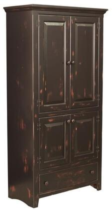 Chelsea Home Furniture 465004 Abraham Series Freestanding Wood 1 Drawers Cabinet