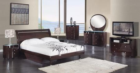 Global Furniture USA EMILYWFBG Emily Full Size Bedroom Sets