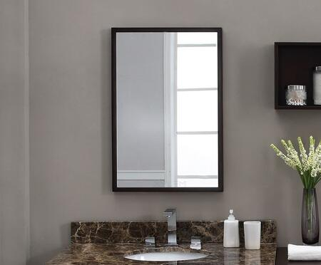 Xylem MBLOX30DW  Rectangular Portrait Bathroom Mirror