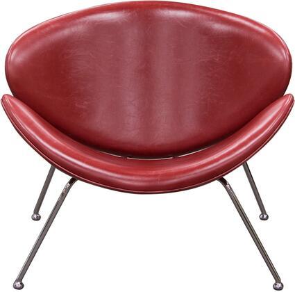 Diamond Sofa ROXYCHVRE2PK Roxy Series Armless Metal Frame Accent Chair