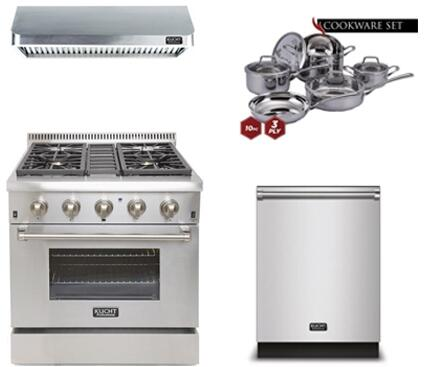 Kucht 810585 Professional Kitchen Appliance Packages