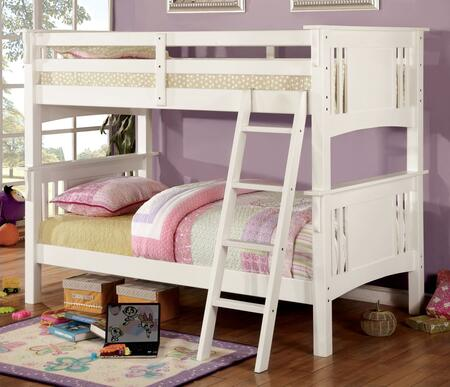 Furniture of America CMBK602TWHBED Spring Creek Series  Twin Size Bed