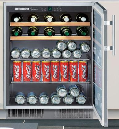 "Liebherr RU500 Freestanding Compact  23.625"" Yes Beverage Center 