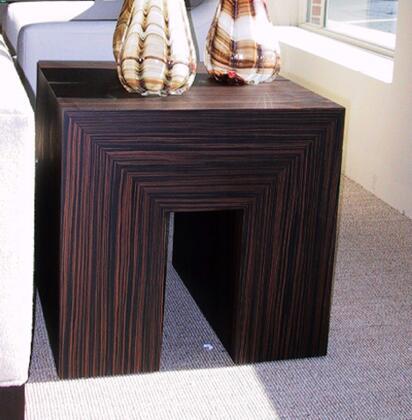 Allan Copley Designs 320202 Contemporary Square End Table