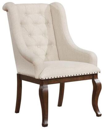 Scott Living 107983 Glen Cove Series Traditional Fabric Wood Frame