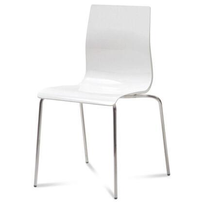 Domitalia GELBASFVSBI Gel Series Transitional Metal Frame Dining Room Chair