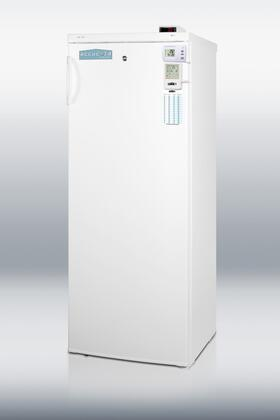 Summit UF850LMEDSC AccuCold Series White  Freezer with 6.4 cu. ft. Capacity