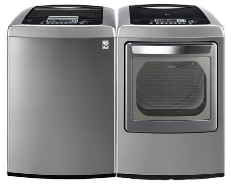 LG WT1301CVPAIR1 Washer and Dryer Combos