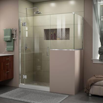 DreamLine Unidoor X Shower Enclosure 6HP 30D 24BP 30RP 01