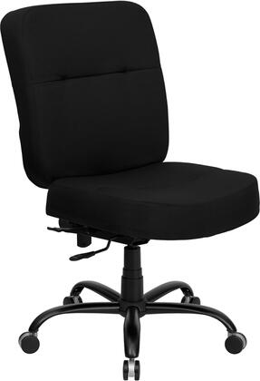 "Flash Furniture WL735SYGBKGG 27"" Contemporary Office Chair"