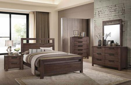 Coaster Caila 5 Piece King Size Bedroom Set