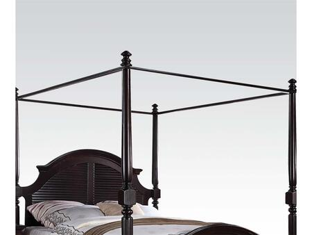 "Acme Furniture Charisma Collection 80"" Canopy with Acacia Wood Construction in Dark Espresso Finish"