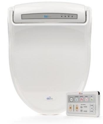 Bio Bidet BB-1000 Supreme Series Advanced X Bidet Toilet Seat, Ergonomic Design, Warm Water, Heated Seat, 3 in 1 Nozzle, 4 Level Pressure Control, Self Clean, Deodorizer Fan, in White