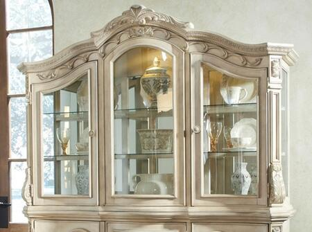 Signature Design by Ashley D70781 Ortanique Series Hutch with 2 Shelves