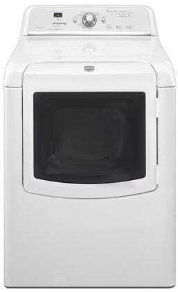 Maytag MGDB700VQ Bravos Series Gas Dryer, in White