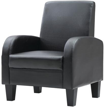 Glory Furniture G103C Newbury Series Armchair Faux Leather Accent Chair