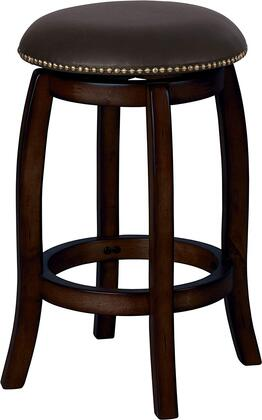 Acme Furniture 07246 Chelsea Series Residential Faux Leather Upholstered Bar Stool
