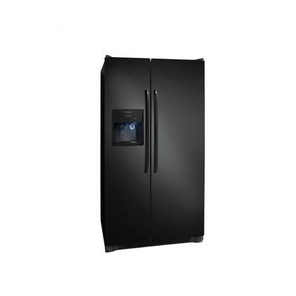 Frigidaire FFHS2611LB Freestanding Side by Side Refrigerator