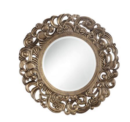 Stein World 80977  Round Portrait Decorative Mirror