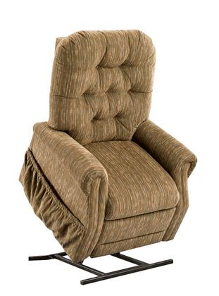 MedLift 2555BH Contemporary Fabric Wood Frame  Recliners