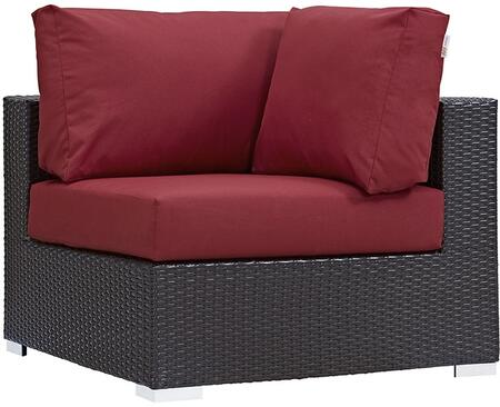 Modway EEI1840EXPRED Convene Series  Aluminum Frame  Patio Chair
