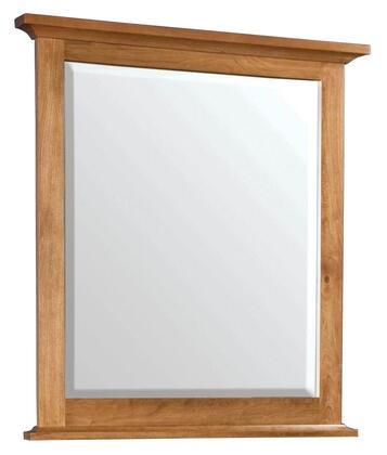 Durham 100181C Westwood Series Rectangular Portrait Dresser Mirror