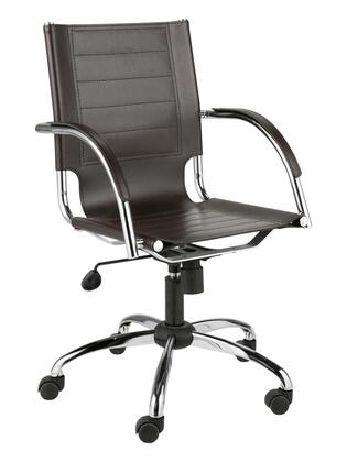"Euro Style 00402BRN 21.75""  Office Chair"