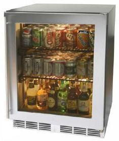 Perlick HC24RB4RDontUse Commercial Series Compact Refrigerator with 4.9 cu. ft. Capacity
