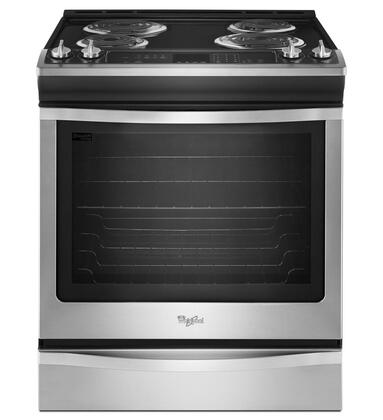Whirlpool Wec530h0ds 30 Inch Slide In Electric Range In