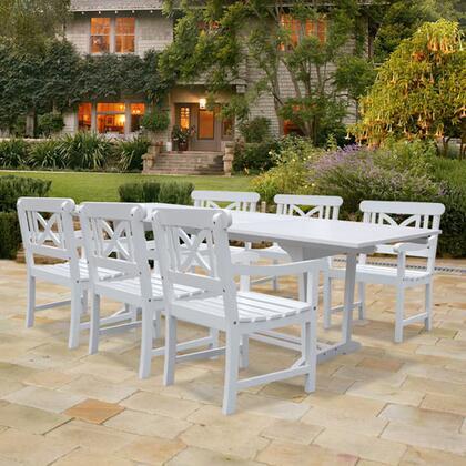 Vifah v1334set7 bradley patio sets appliances connection for Outdoor furniture 0 finance