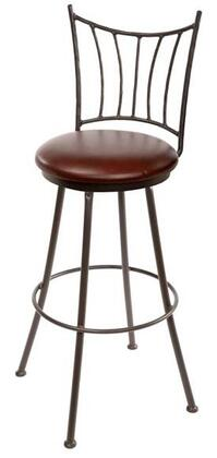 Stone County Ironworks 902766FABFDT Ranch Series  Bar Stool