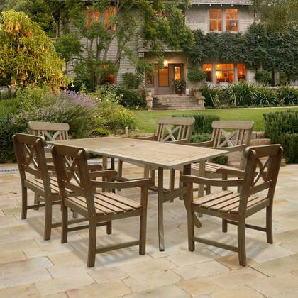 Vifah V1300SET7 Renaissance Patio Sets