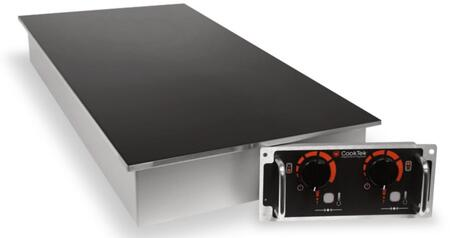 CookTek Front to Back Oriented Cooktop