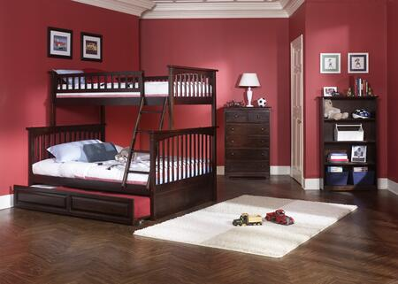 Atlantic Furniture COLTFAW  Twin Size Bed