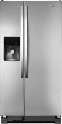 Whirlpool Wrs342fiam 33 Inch Side By Side Refrigerator In