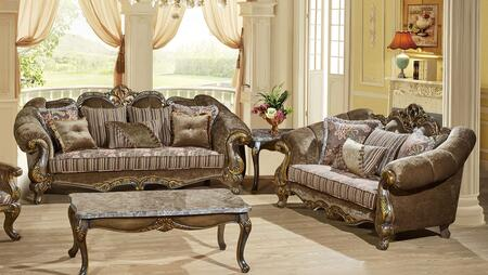 Meridian 6562PCSTLKIT1 Stefania Living Room Sets