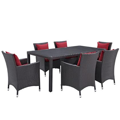 Modway EEI2199EXPREDSET Rectangular Shape Patio Sets