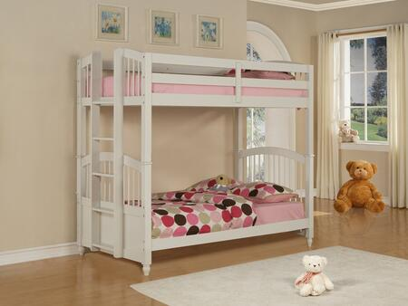 Powell 270037 May Series  Twin Size Bunk Bed