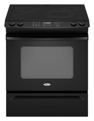 Whirlpool GY399LXUB Gold Series Slide-in Electric Range with Smoothtop Cooktop Storage 4.5 cu. ft. Primary Oven Capacity |Appliances Connection