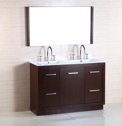 Bellaterra Home 502011A Vanity and Mirror Set