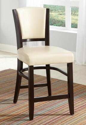 Coaster 103689IVY Dining 1036 Series Casual Vinyl Wood Frame Dining Room Chair
