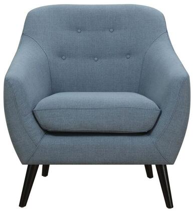Coaster 505349 Dawson Series Fabric Armchair with Wood Frame in Turquoise