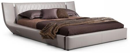 VIG Furniture VGWCDENMARKCK Modrest Denmark Series  Cal King Size Platform Bed