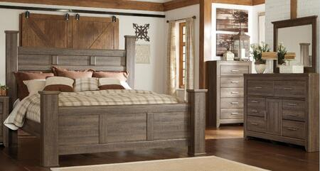 Milo Italia BR371QPSBDM Reeves Queen Bedroom Sets