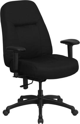 "Flash Furniture WL726MGBKAGG 30"" Contemporary Office Chair"