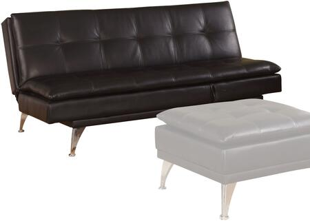 Acme Furniture 57080 Frasier Series Convertible Bycast Leather Sofa