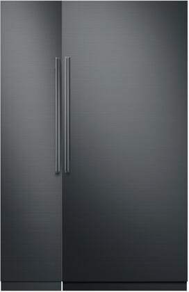 Dacor 786172 Modernist Side-By-Side Refrigerators