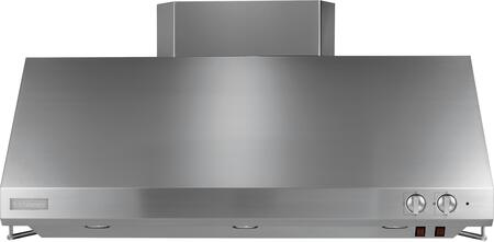 GE Monogram ZVxSSJSS Professional Range Hood with x CFM, Variable Speed Fan Control, Halogen Lighting, Infrared Lamp and Utensil Racks, in Stainless Steel