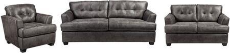 Milo Italia MI3722SLCCHAR Brooklynn Living Room Sets