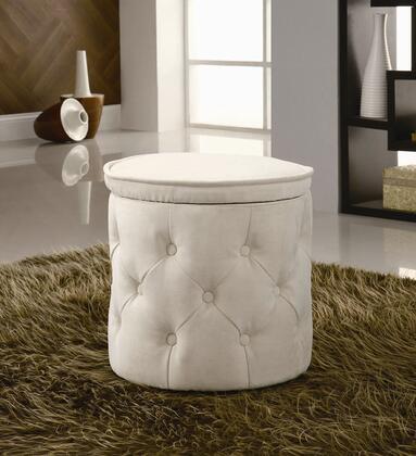 Coaster 500929 Niederwald Series Traditional Fabric Ottoman